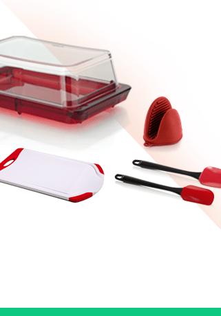 Peças em plástico e silicone